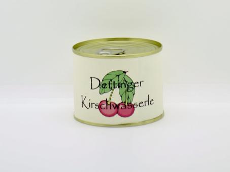 Dettinger Kirschwässerle mit Sauerkirschen