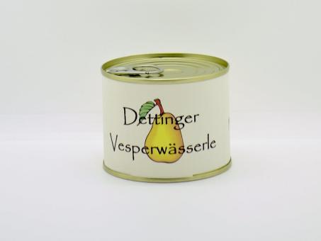 Vesperwässerle mit Williamsschnitzen